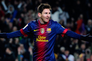 > at Camp Nou on December 1, 2012 in Barcelona, Spain.