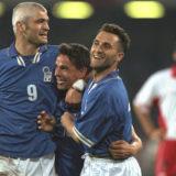 22 anni fa: Italia-Polonia 3-0, Baggio è ancora qui. Le immagini.