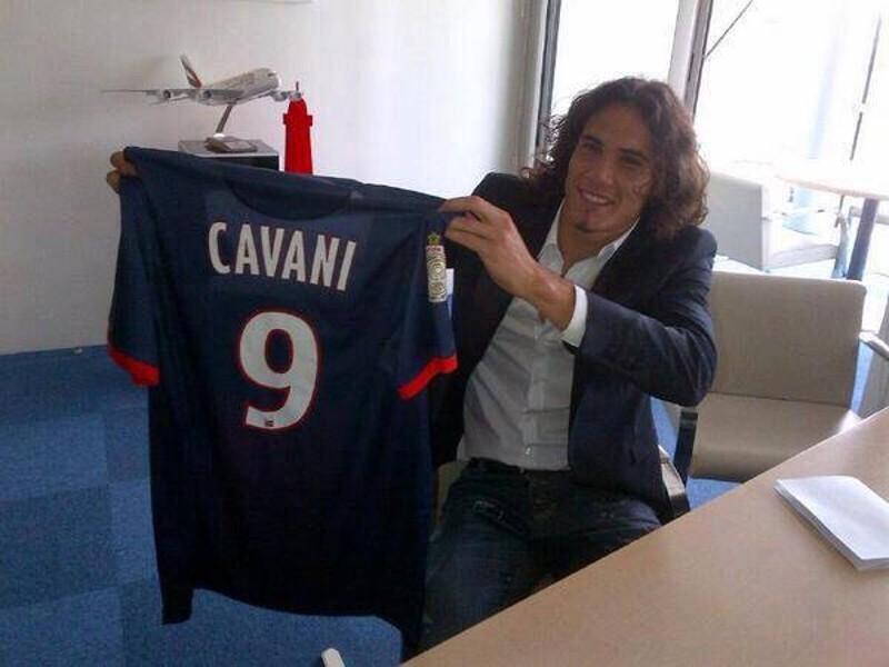 Edinson Cavani al PSG