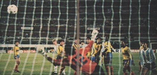 Diego Maradona contro Ecuador